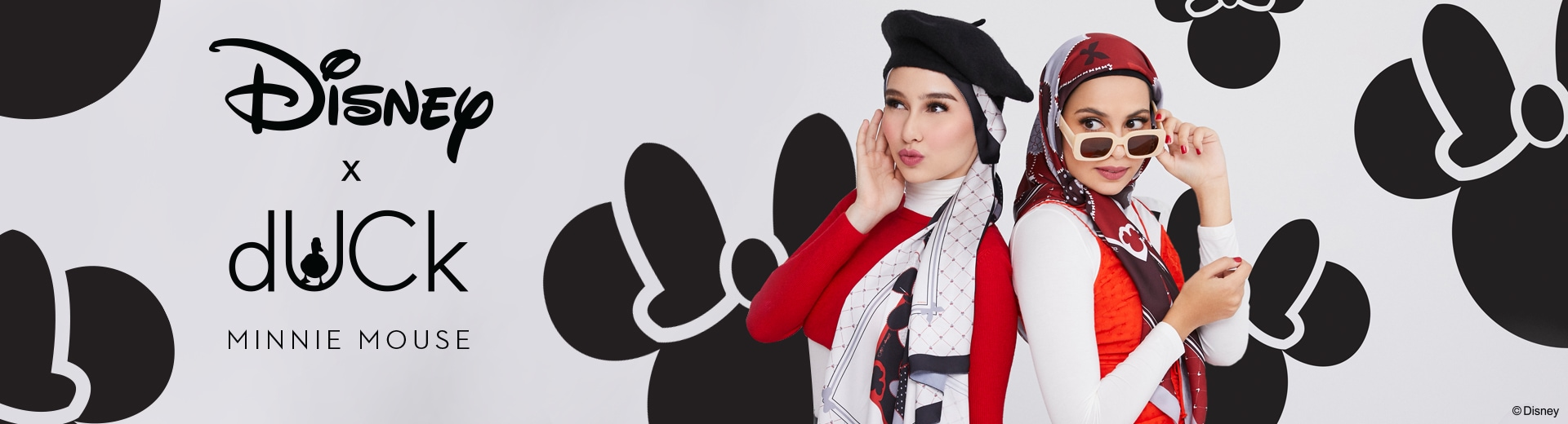Shop Page Hero Banner - DUCK X Minnie Mouse