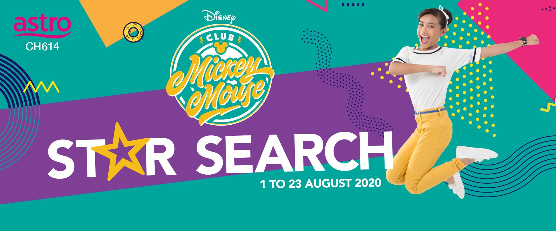 Homepage Hero - Club Mickey Mouse Star Search Malaysia