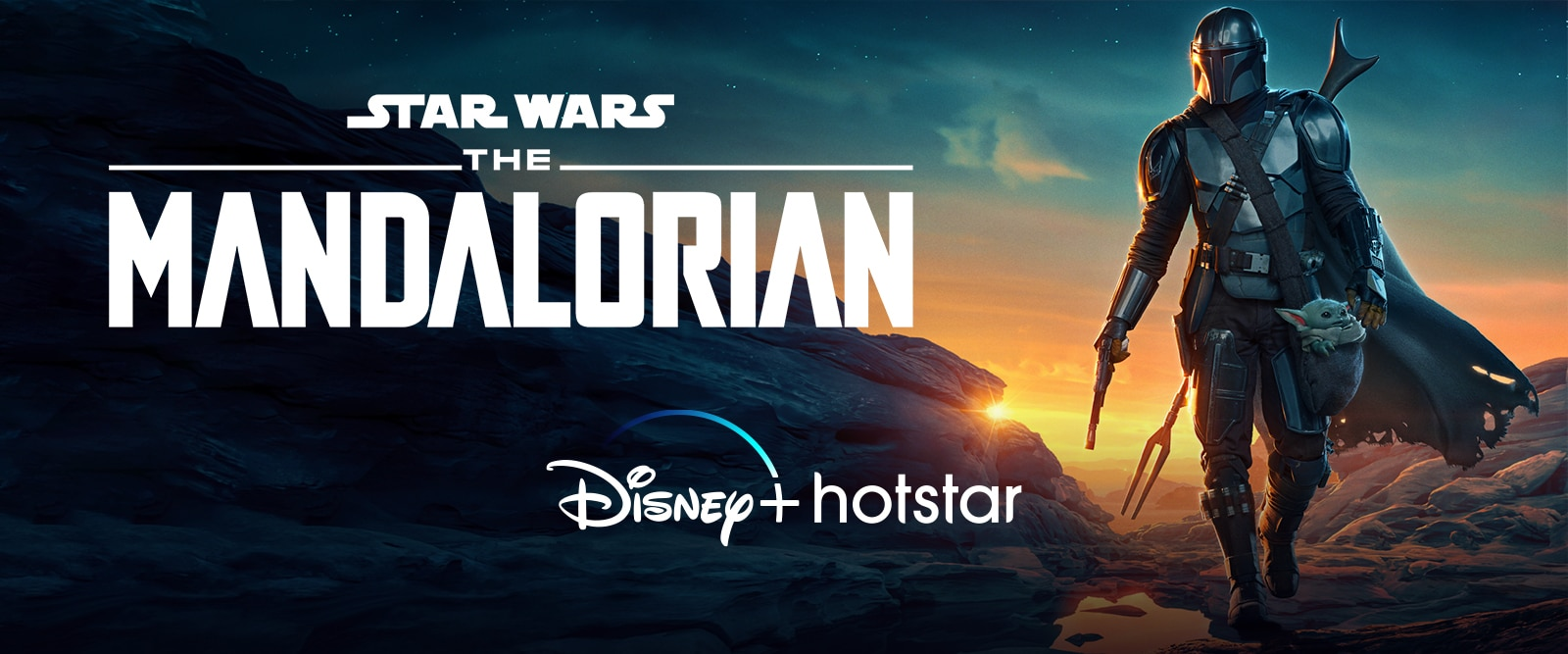 Homepage Hero - Disney+ Hotstar Mandalorian S2 Launch