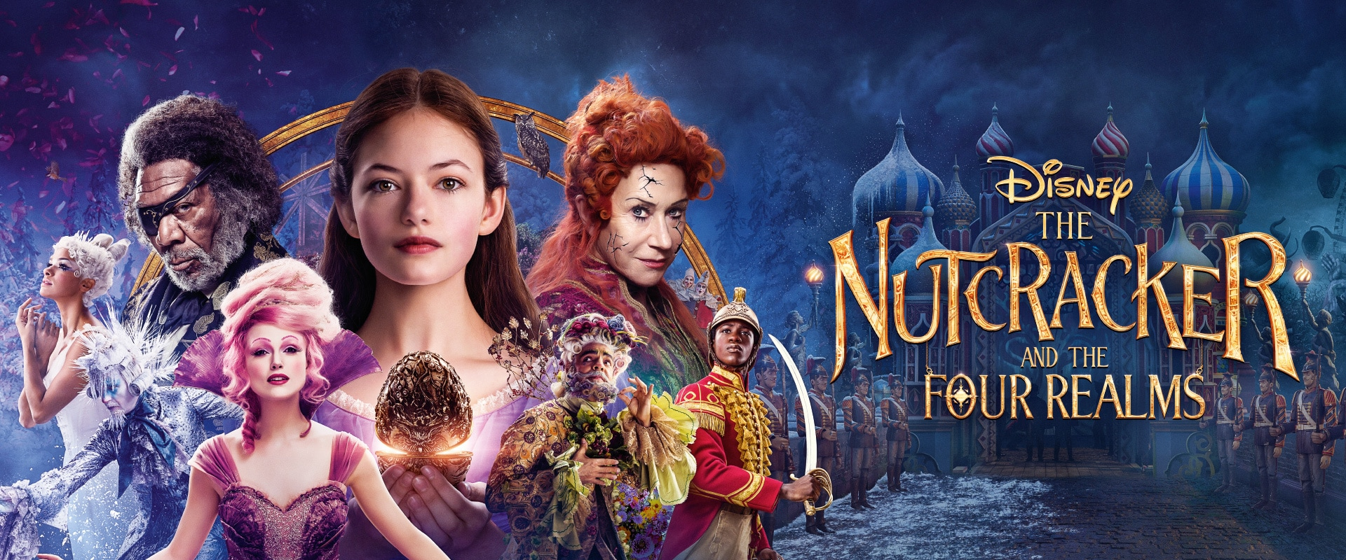 Disney's The Nutcrackers and the Four Realms | Movies | Homepage | Disney