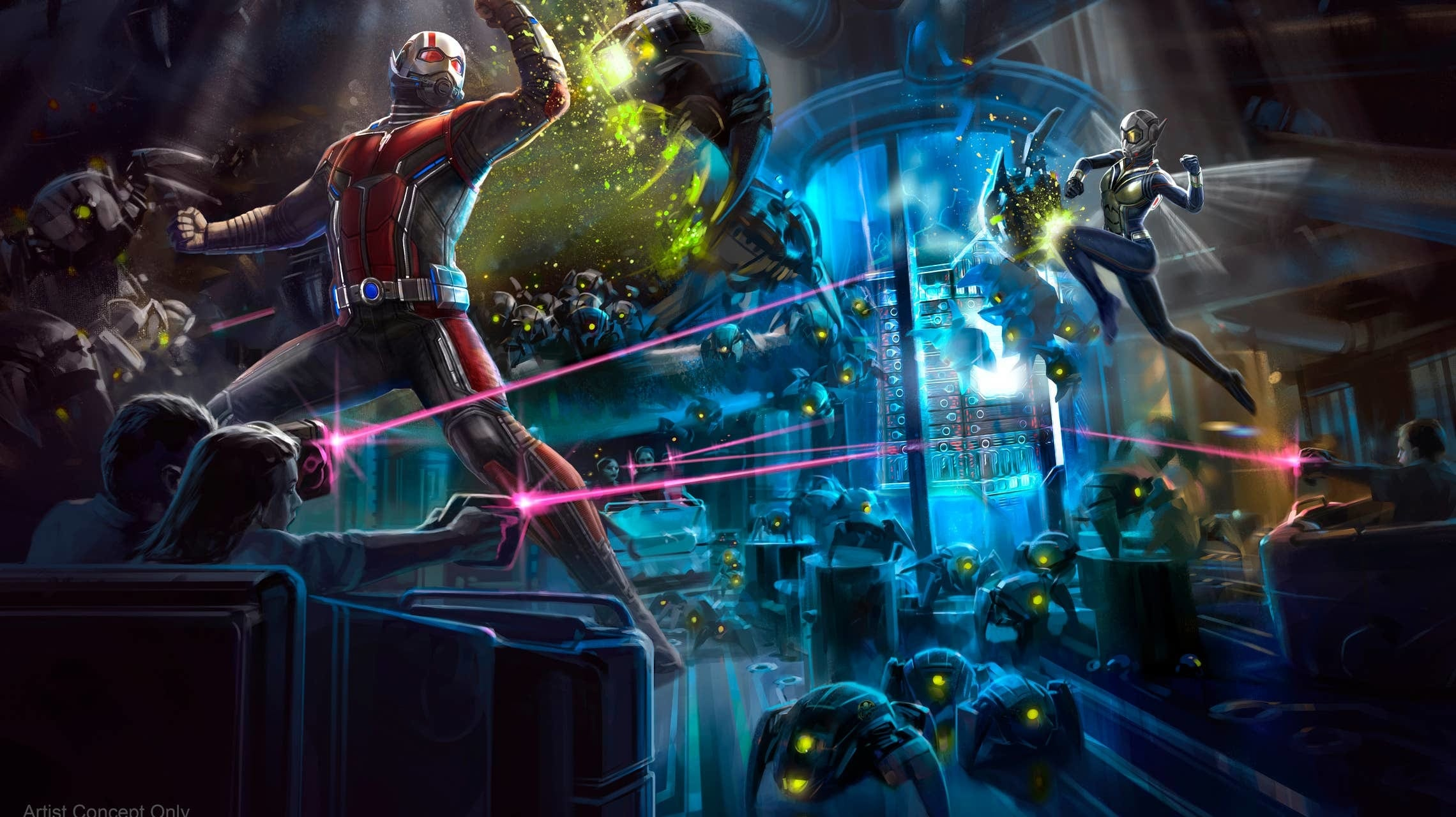 ant man and the wasp attraction