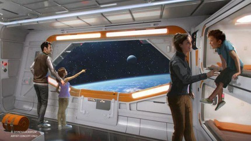 Check Out Two New Images of the New Star Wars-Inspired Resort Coming to Walt Disney World