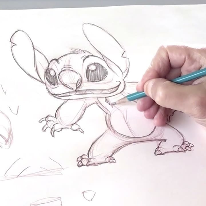 Your Entire 'Ohana Can Learn to Draw Stitch With Walt Disney Animation Studios!