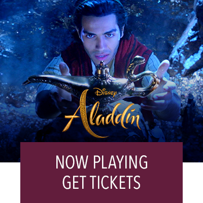 Aladdin In Theaters Now. Get Tickets