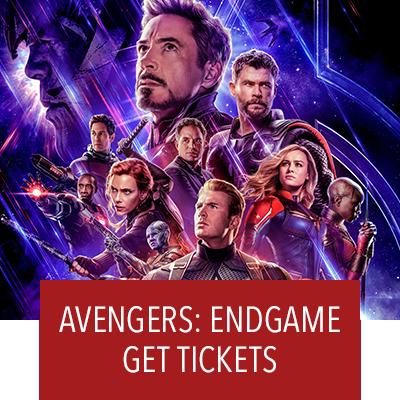 Avengers: Endgame. Get Tickets