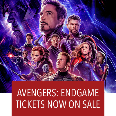 Avengers: Endgame. Tickets Now On Sale.