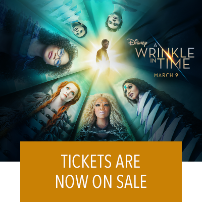 Get Tickets for A Wrinkle In Time