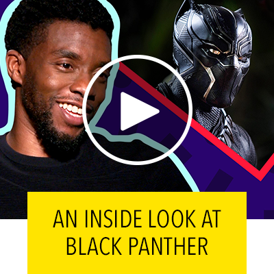 Chadwick Boseman on What it Was Like Filming Marvel Studios' Black Panther | Oh My Disney Show