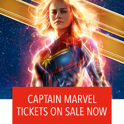 Captain Marvel Tickets Now On Sale