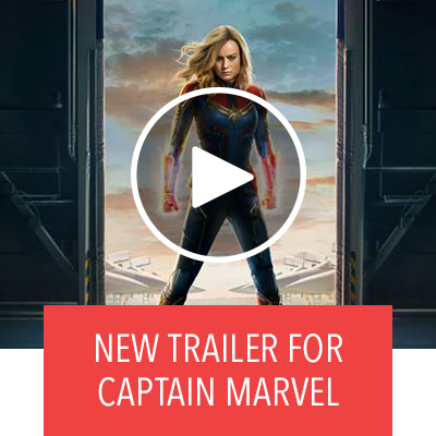 Captain Marvel Trailer - In Theaters March 8