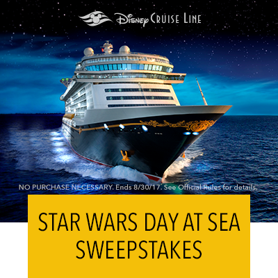 Experience Star Wars Day at Sea with the May the Force Sail with You Sweepstakes