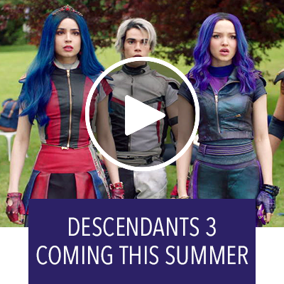 Descendants 3 is coming this summer!