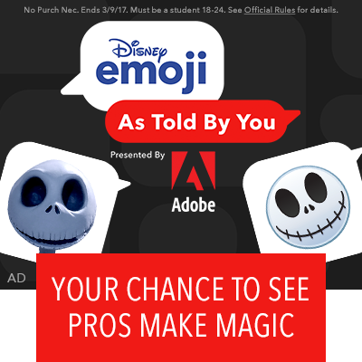 Disney Emoji As Told By You, Presented by Adobe