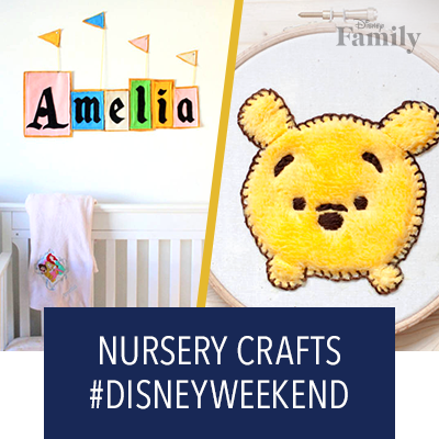 Disneyfy Your Little One's Nursery This #DisneyWeekend