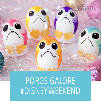 #DisneyWeekend Is Filled With Porgs Galore