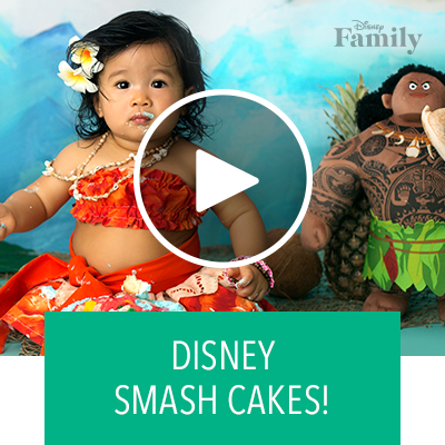The Cutest Disney Smash Cakes | Disney Family