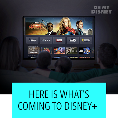 Here Is What's Coming To Disney +