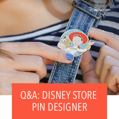 4 Disney Store Artists Share How Disney Pins Go From Design to Your Denim Jacket