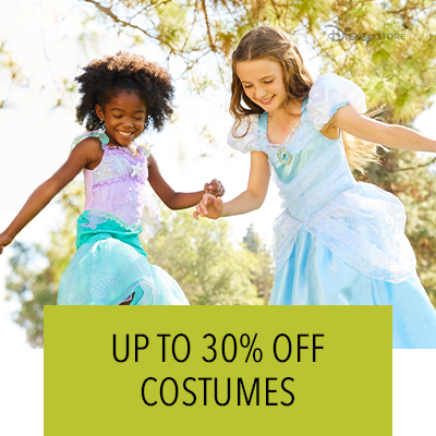 Hero Stream - Disney Store - 30% Off Costumes