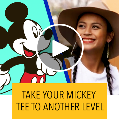 Take your Mickey Tee To Another Level
