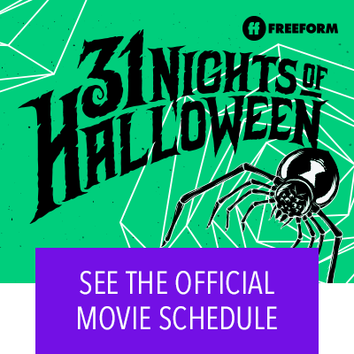 31 Nights of Halloween Movie Schedule