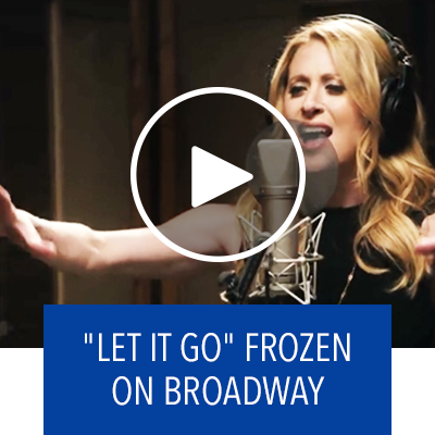 """Let It Go"" from FROZEN On Broadway"