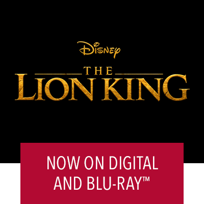 The Lion King Now On Digital and Blu-ray™️