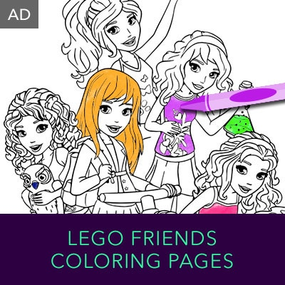 Hero Stream - LEGO Princess - Coloring Pages