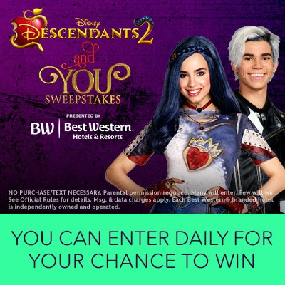 Descendants 2 and You Sweepstakes