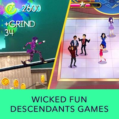 Play Descendants Games