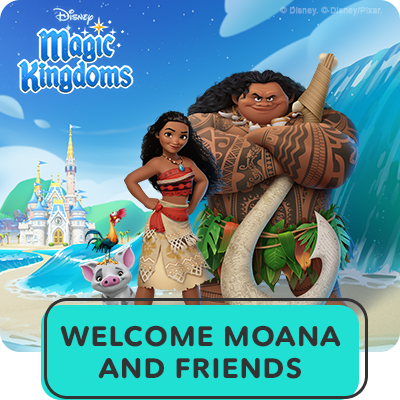 Hero Stream - Disney Magic Kingdoms - Moana