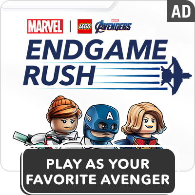 Hero Stream - Lego Marvel Avenger's Endgame