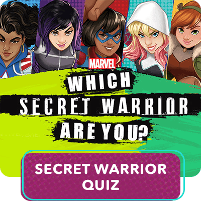 Marvel Rising - Which Secret Warrior Are You?