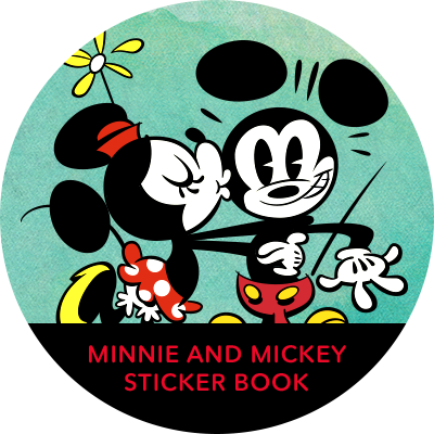 Rock The Dots - Mickey Sticker Book