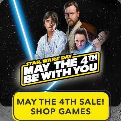 Hero Stream - Star Wars - May the 4th sale