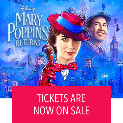 Mary Poppins Returns Tickets Now On Sale