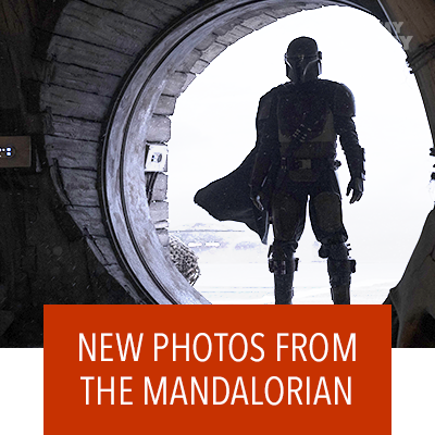 SEE NEW PHOTOS FROM THE MANDALORIAN