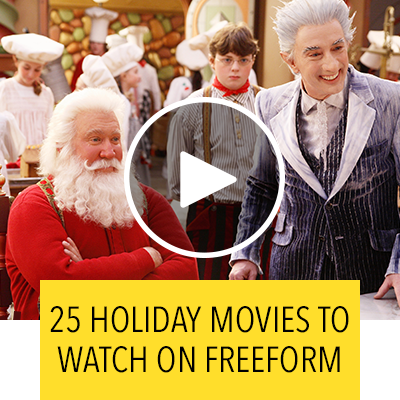 All the Holiday Movies You Can Watch on Freeform's 25 Days of Christmas | Oh My Disney