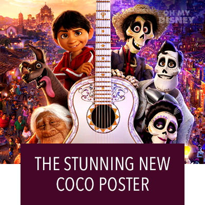 See Stunning New Coco Poster