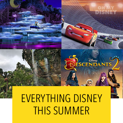 Everything Disney This Summer