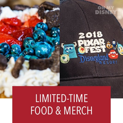 A PEEK AT THE FOOD AND MERCH