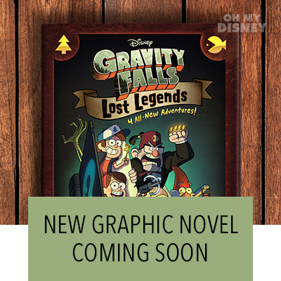 THROUGH MYSTERIOUS PUZZLE PIECES, ALEX HIRSCH REVEALED THE COVER FOR THE FIRST-EVER GRAVITY FALLS GRAPHIC NOVEL