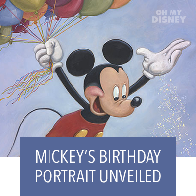 Hero Stream - OMD - Mickey's Birthday Portrait