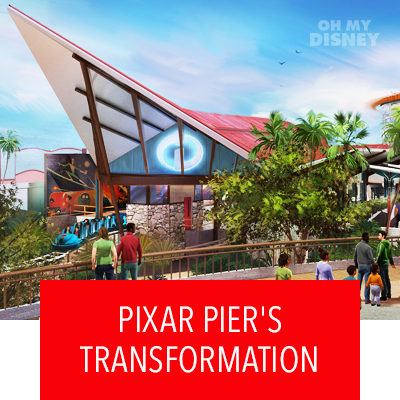EXPLORE THE NEW PLANS FOR DISNEY CALIFORNIA ADVENTURE'S PIXAR PIER TRANSFORMATION