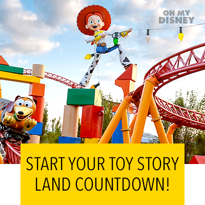 OPENING DATE FOR TOY STORY LAND WAS ANNOUNCED