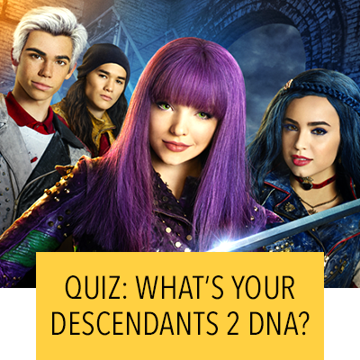QUIZ: WHAT'S YOUR DESCENDANTS 2 DNA?