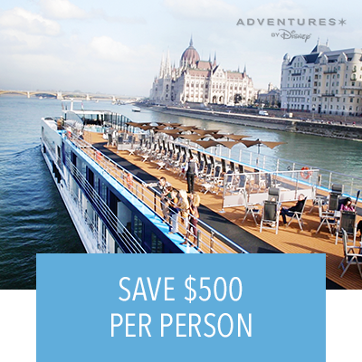 Adventures By Disney | 2020 European River Cruise Early Booking Offer