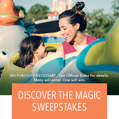 Discover the Magic Sweepstakes