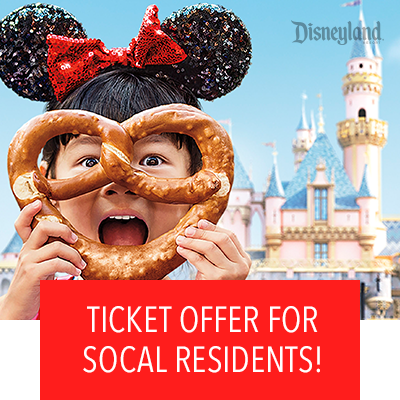 Limited time ticket offer for SoCal residents!