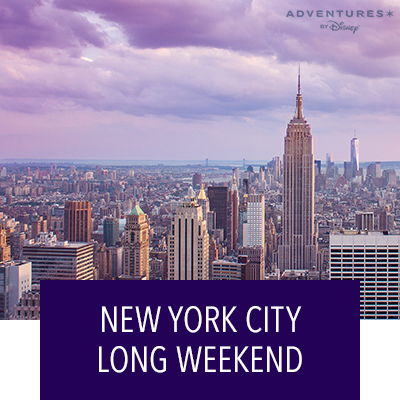 """Explore """"The City That Never Sleeps"""" - New York City Long Weekend"""